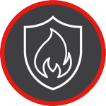 Fire and Security Icon