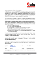 Environmental Management Policy Statement